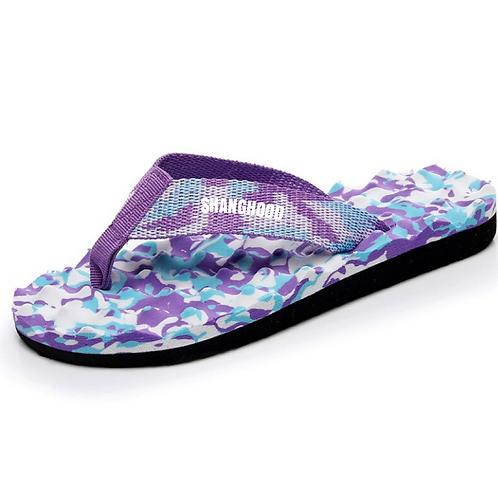 Originals Purple Camo Flip Flops