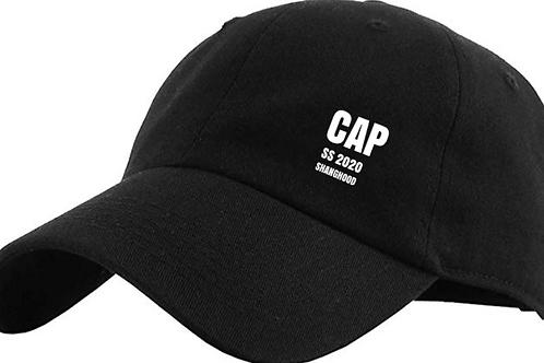 CAP Six Panel Black Cap