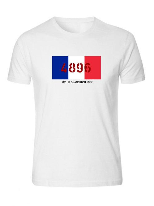4896 Paris White Tee