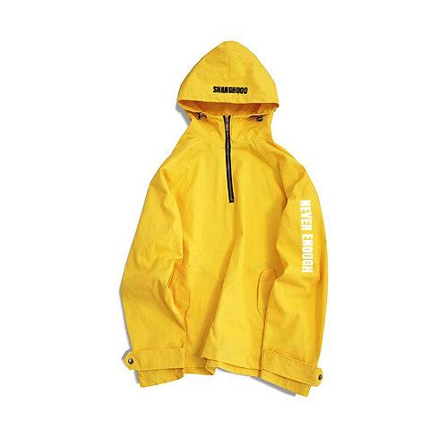 Never Enough Yellow Windbreaker