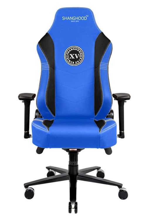 Royal Blue Faux Gaming Chair