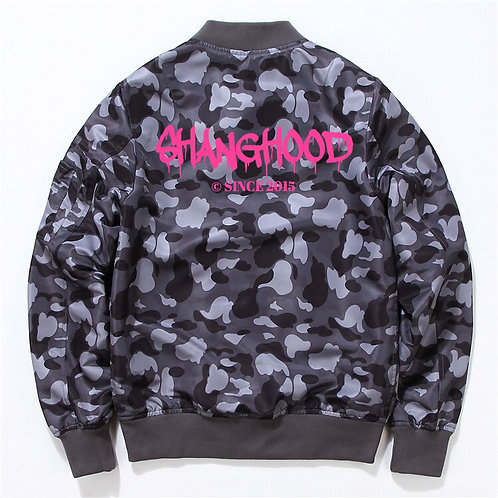 Grey Signature Camo Jacket