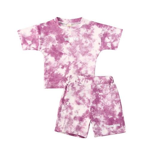 SS2020 Tie-Dye Kids Lilac