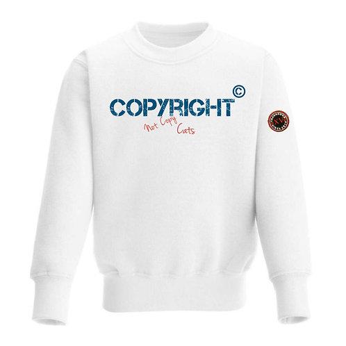 Copyright 2020 White Sweatshirt