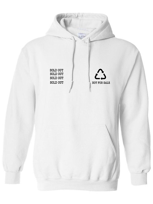 SOLD OUT White Hoodies
