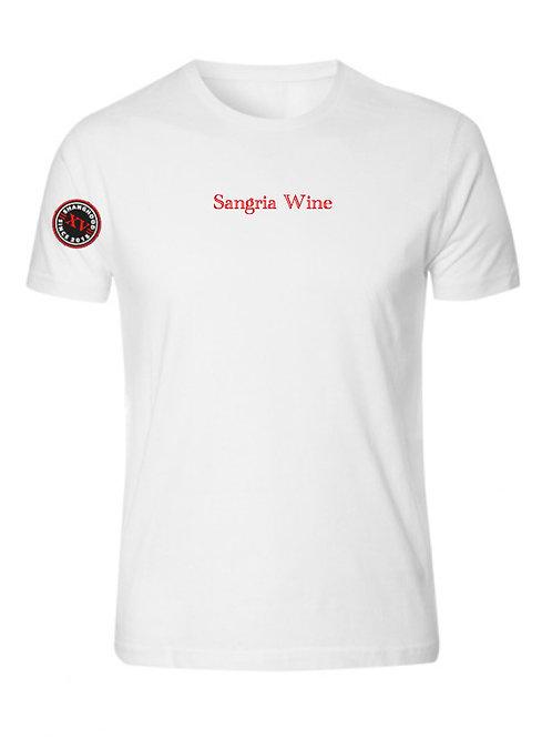 Sangria Wine White Tee