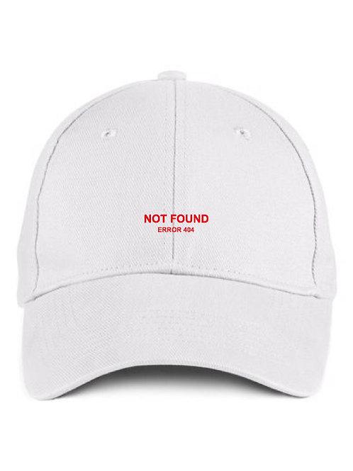 Error 404 White Cap