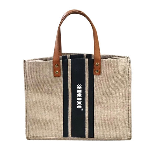 Ladies Neat Canvas Bag Large