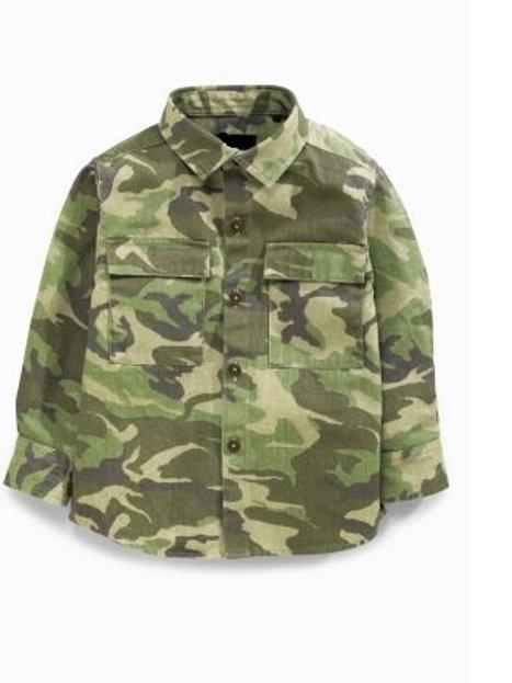 Khaki Camo Shirt