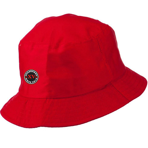 Signature Red Bucket Hat SS19