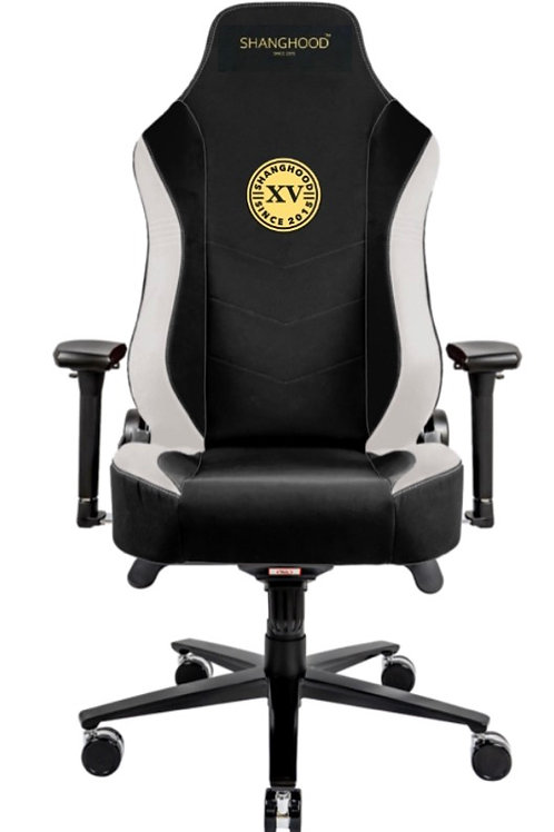 White Faux Gaming Chair