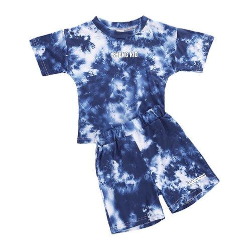 SS2020 Tie-Dye Kids Dark Blue