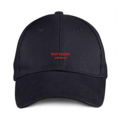 Error 404 Black Cap 3