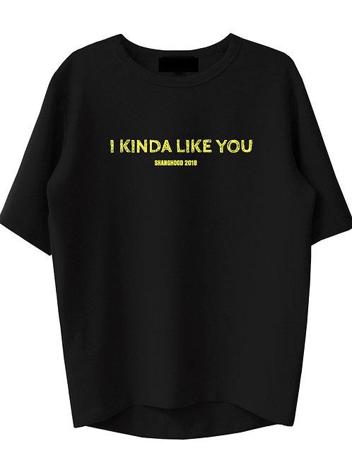 I Kinda Like You Black Tee