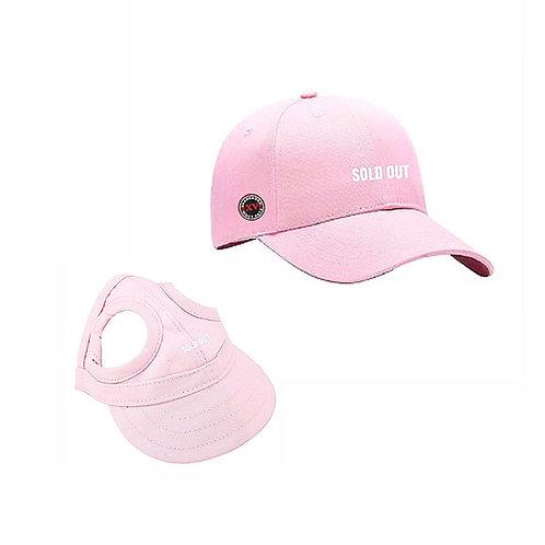 SHANG Dogs Signature Pink  Cap + Adult Cap Bundle