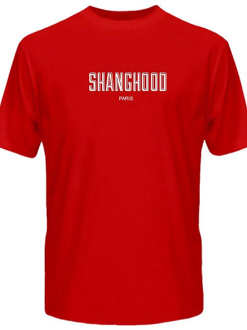 SHANGHOOD Paris Red Tee