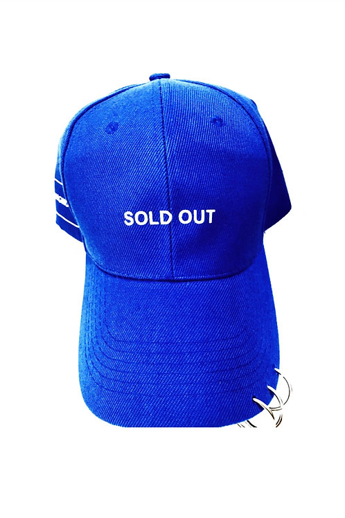 SOLD OUT Metalring Blue Cap