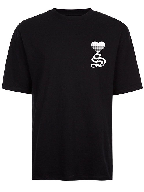 Juice Love  2nd Collection Black Tee