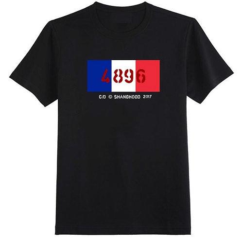 4896 Paris Black Tee