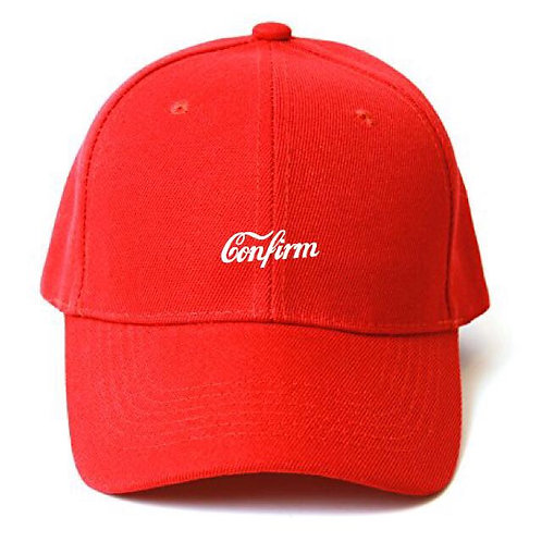 Confirm Red Cap