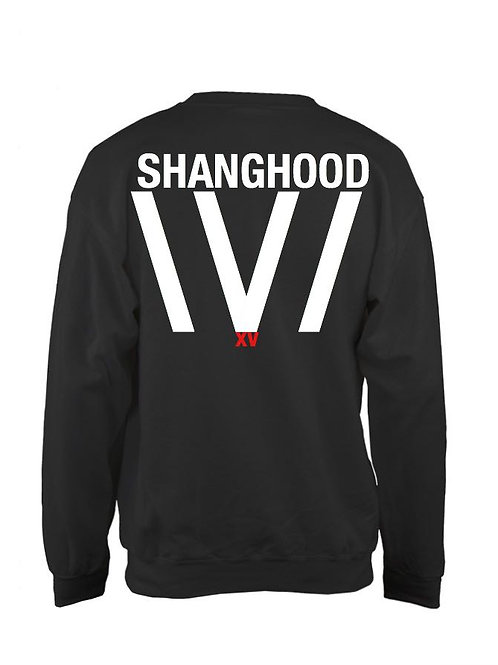 XV White Stripe Sweatshirt