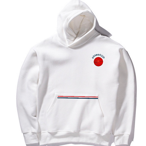SHANG All Star White Hoodie
