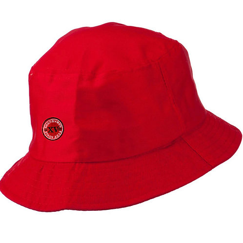 Signature Red Bucket Hat V2 SS19