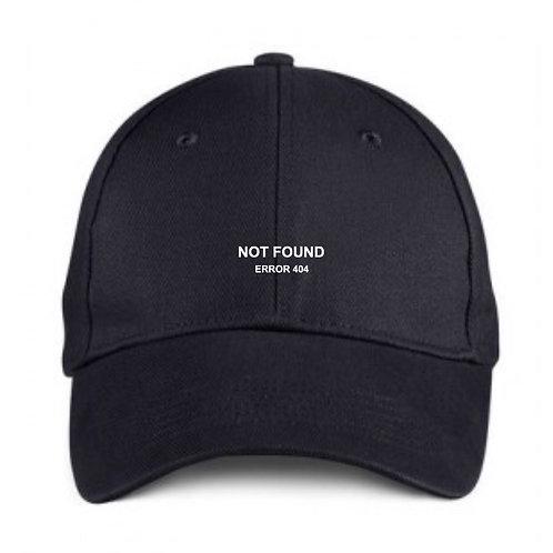 Error 404 Black Cap