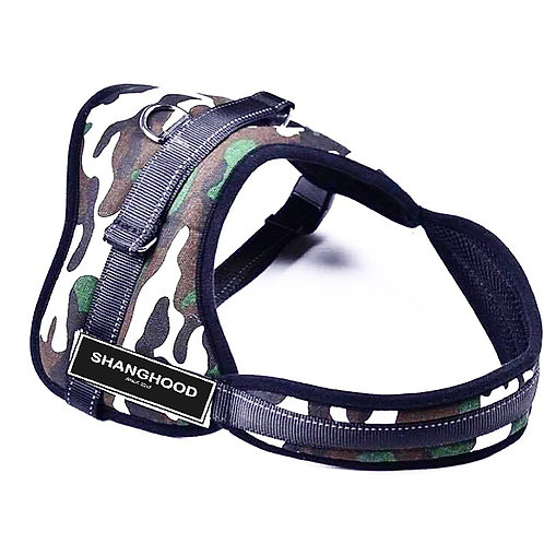 SHANG Dogs Camo Harness Vest