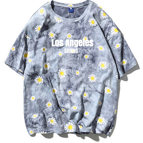 SS2020 Los Angeles Grey Sun Tee