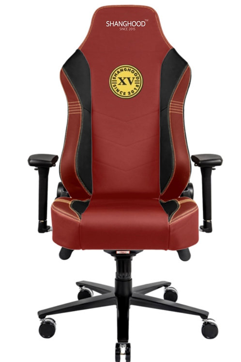 Red Faux Gaming Chair