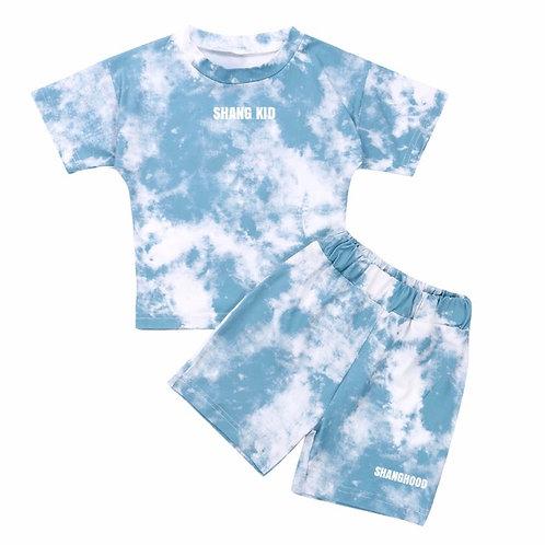 SS2020 Tie-Dye Kids Light Blue