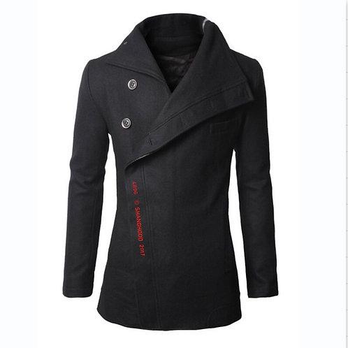 4896 Wool Coat Black (Red Font)