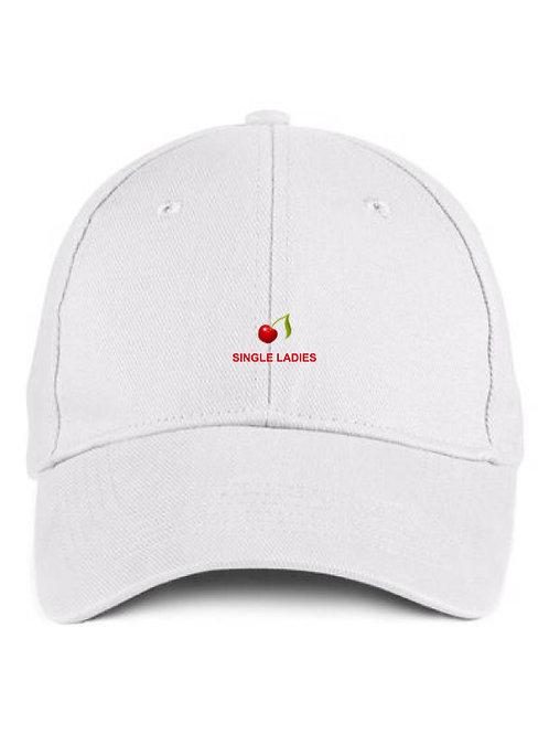 Single Ladies White Cap