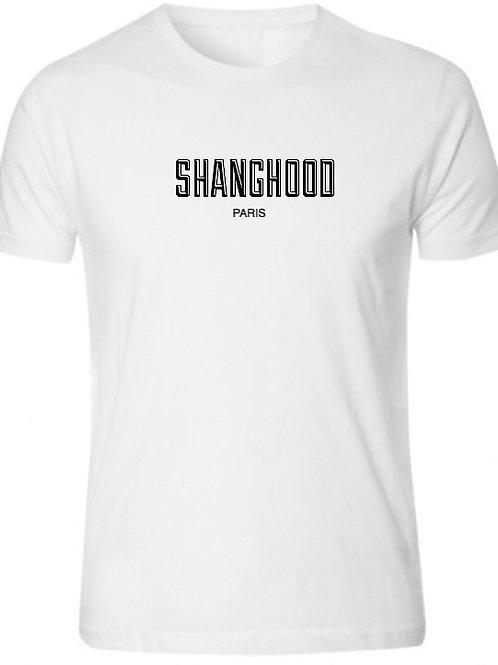 SHANGHOOD Paris White Tee