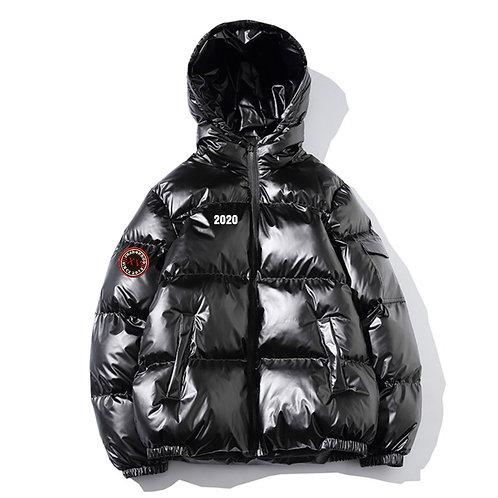 Shiny Black Cotton Jacket FW19/20