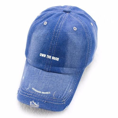 Own The Hood Denim Cap