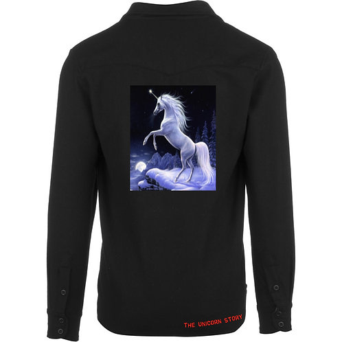 The Unicorn Story Black Shirt