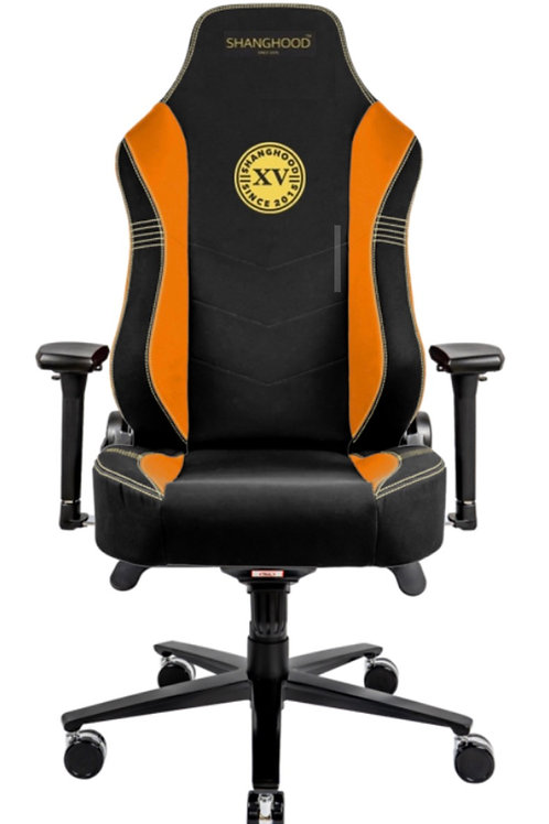 Orange Faux Gaming Chair