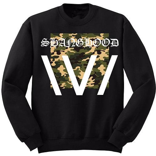 XV Camo Stripe Sweatshirt
