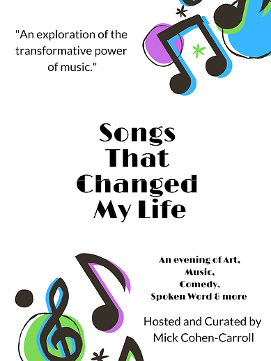 Songs that Changed my life - Poster.png