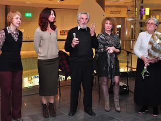 "ГЕШТАЛЬТЫ ШЕЙНА. Андрей Корнев. ""AC""gallery Kharkov. 18 ноября 2012 г. SHEIN's SCHEME"