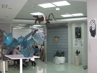 """Выставка скульптуры Алексея Есюнина. """"Два листа"""". Харьков, 2011 Sculpture exhibition. Alek"""