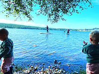 Loch migdale, Scottish loch, paddleboarding, paddleboarding Scotland, paddleboarding highlands