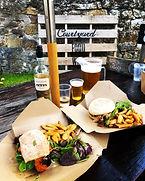 Courtyard Dornoch, Dornoch, Outdoor seating, Food Scotland