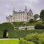 Scottish castle, Dunrobin castle, highland castle, Dornoch, Golspie