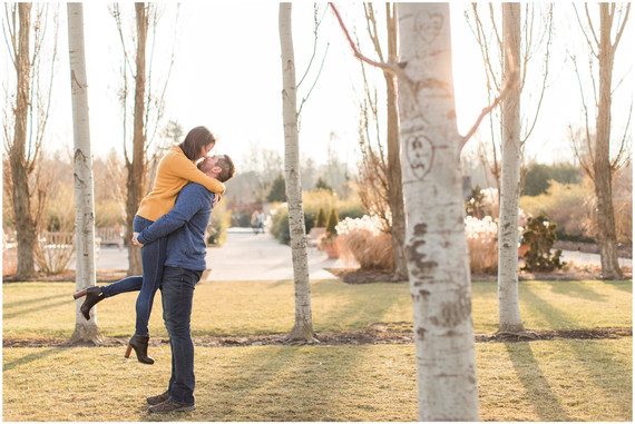 Will + Amanda | Penn State Arboretum Proposal