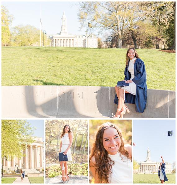 Lindsay's Senior Session | Penn State Class of 2021