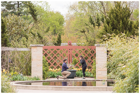 Phil and Nikki's Arboretum Proposal | A Socially Distant Proposal Session