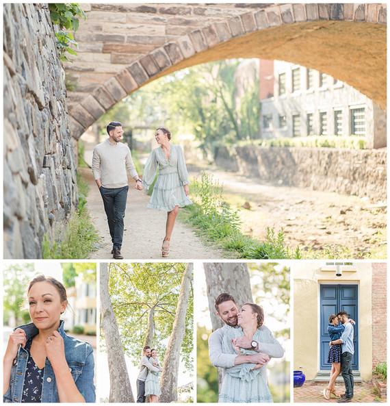 Jonathan + Katie Engagement | Georgetown